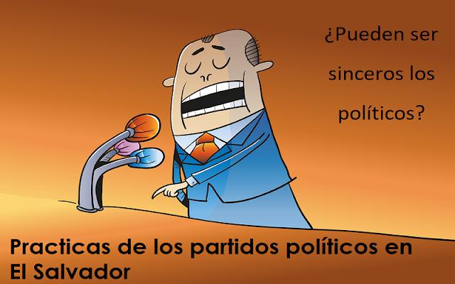 Partidos Políticos en El Salvador
