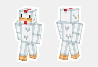 skin de pollo minecraft