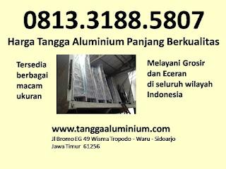 Harga Tangga Aluminium Panjang Berkualitas