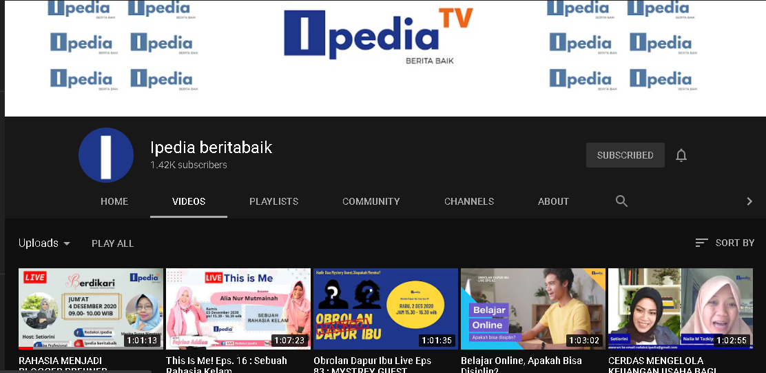 channel youtube Ipedia TV