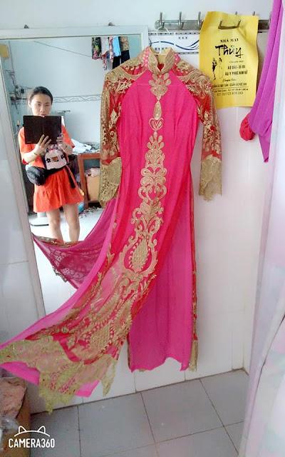 Chuyên may áo dài cô dâu Áo dài học sinh Áo dài đi tiệc💃 tại Tân An Long An