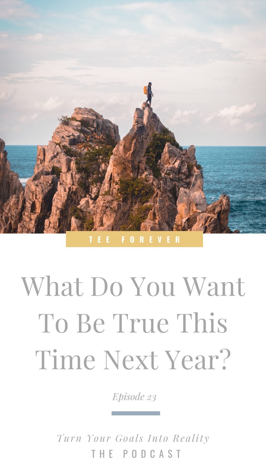 What Do You Want To Be True This Time Next Year?