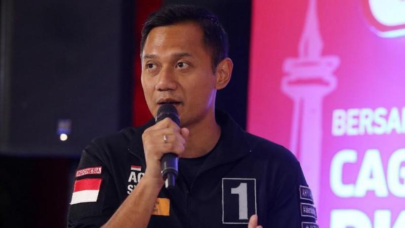 Cagub DKI Jakarta Agus Harimurti Yudhoyono