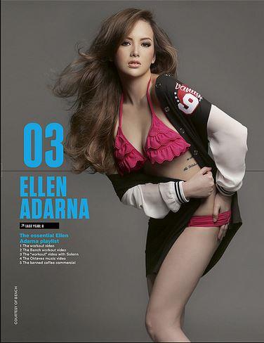 Ellen AdarnaFHM 2015 Sexiest