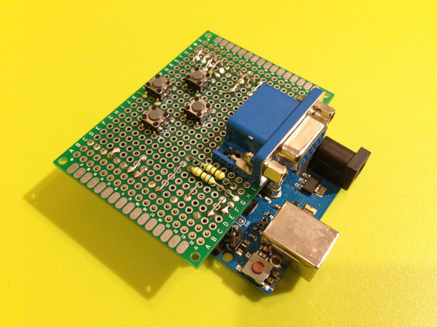 Embedded systems in egypt arduino vga output