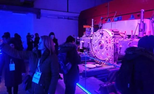 BH.UČITELJI U PRVOJ POSJETI CERN-U, MJESTU ROĐENJA INTERNETA