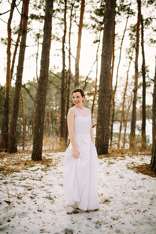 Intentional sewing | Why I'm grateful I made my own wedding dress