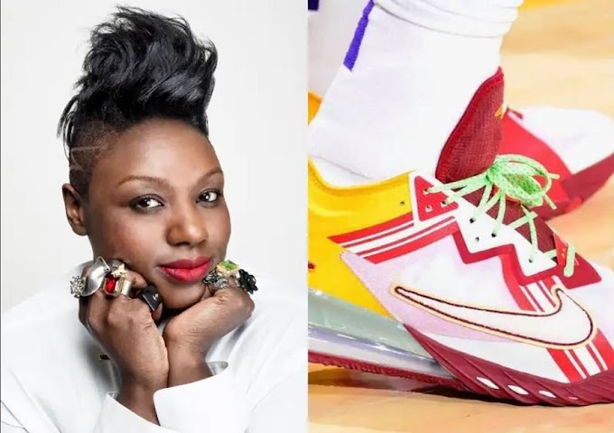 LeBron James partners with Ghanaian-born designer Mimi Plange for new Nike sneaker collection