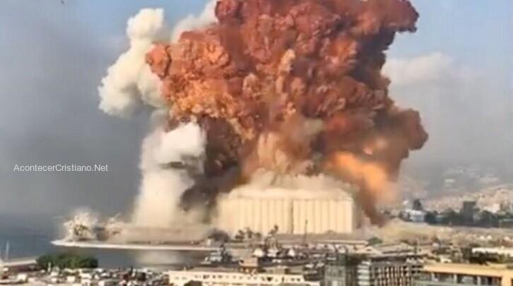 Explosión en el puerto de Beirut, Líbano