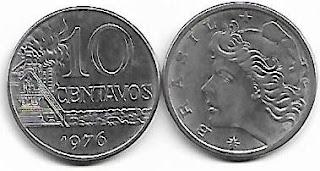 10 centavos, 1976
