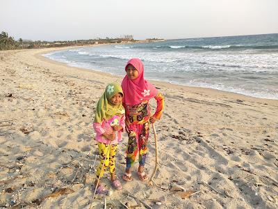 Pantai Suak Buatan yang belum Populer Keindahannya