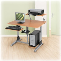 Adjustable Computer Workstation