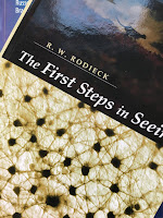 The First Steps in Seeing,  by Robert Rodieck, superimposed on Intermediate Physics for Medicine and Biology.