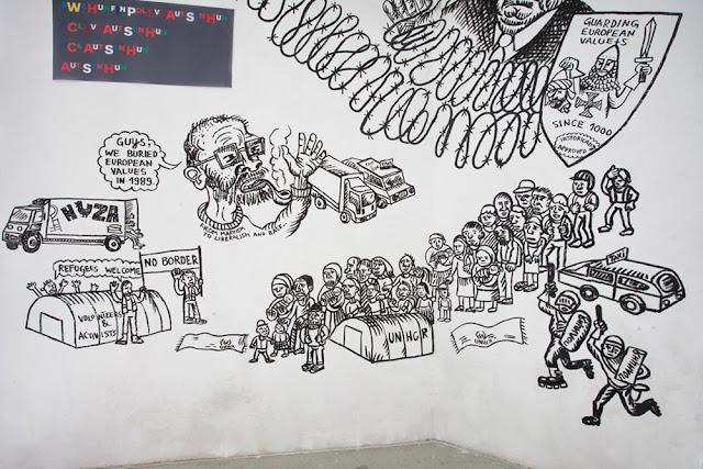 """""""Hladni zid"""" u Novom Sadu"""