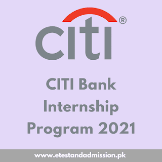 Citi Bank Internship Program 2021