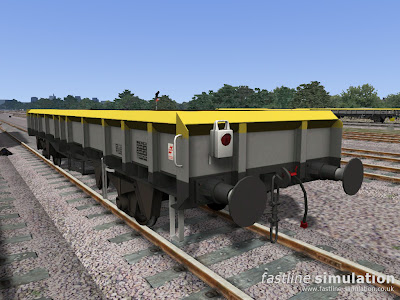 Fastline Simulation: ZCA Sea Urchin with correct period BR flashing battery tail lamp for Railworks Train Simulator 2012.