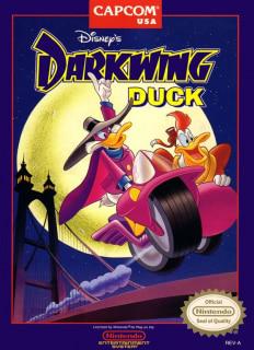 Capa do jogo Disney's Darkwing Duck para Nes