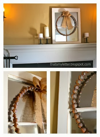 master bedroom fall mantel