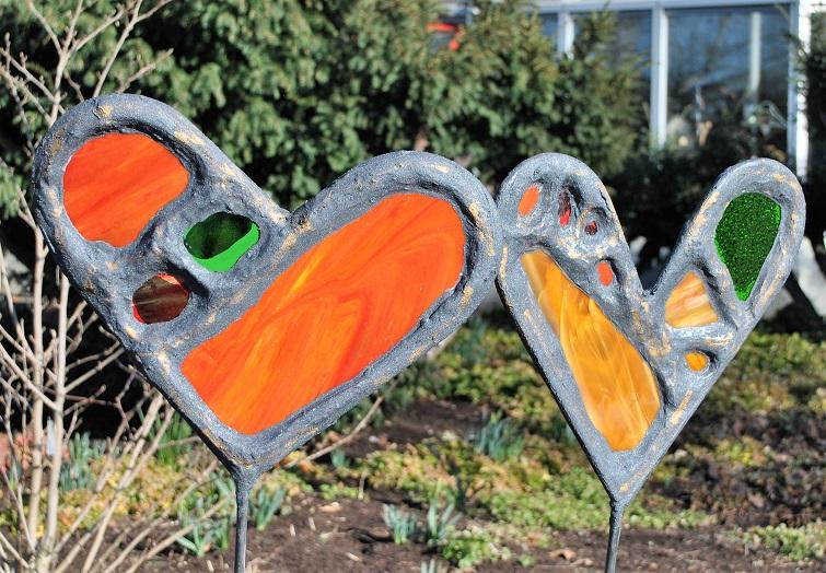 Gartenstecker, Skulpturen, Kunst und Dekoration