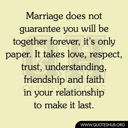 first and only relationship trust