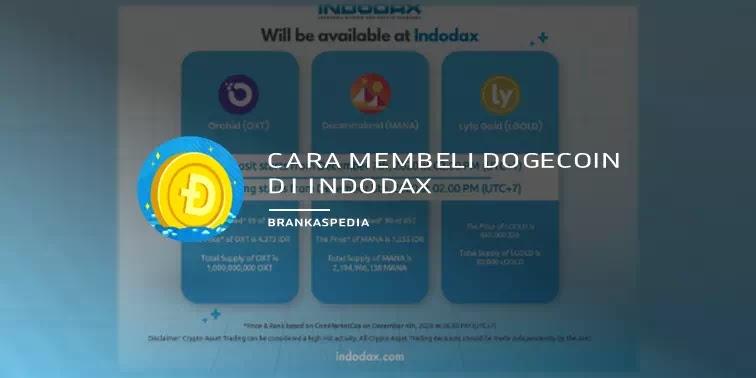 Cara Membeli Dogecoin di Indodax