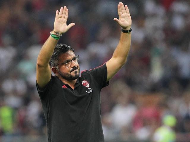 Gattuso, Pelatih Ketujuh AC Milan dalam Tiga Musim Terakhir