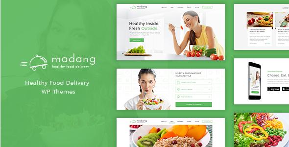 restaurant website type theme for free