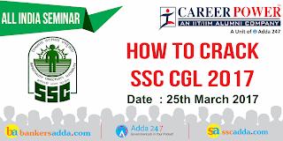SSC CGL Seminar