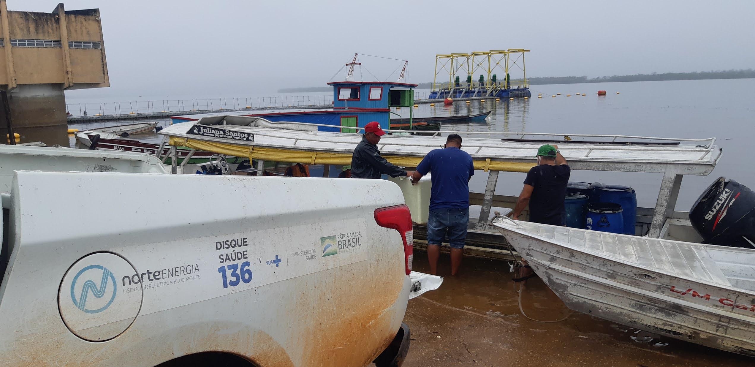 Vacina contra covid-19 chegam ao Xingu para aplicação da 2ª dose em indígenas