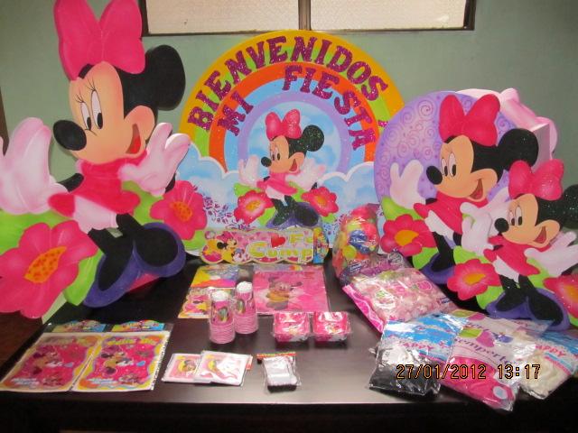 Decoracion minnie mouse fiestas infantiles y for Decoracion eventos infantiles