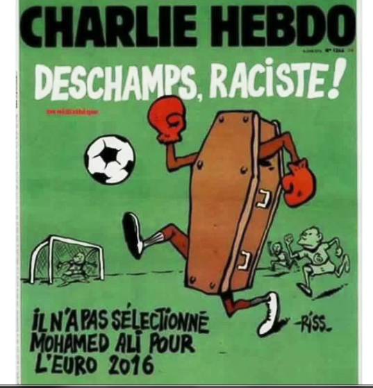 مجلة شارلى ايبدو تسخر من حزن المسلمين على كلاى
