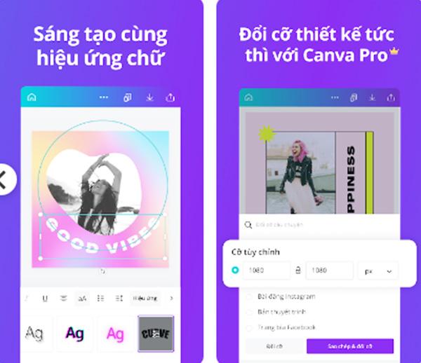 Tải CANVA - Công cụ chỉnh sửa ảnh và thiết kế đồ họa miễn phí c