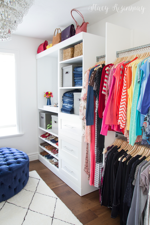 Walk in closet luxury makeover