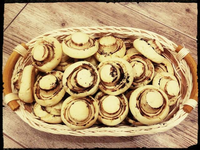 ciastka ciasteczka pieczarki ciastka grzybki