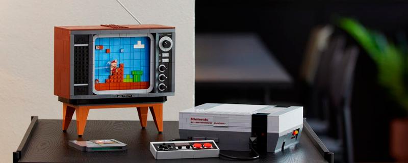 Construye tu Nintendo NES con piezas de LEGO