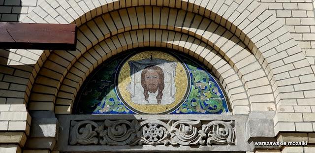 Warszawa Warsaw kościół Leontij Benois garnizon architektura architecture kościoły Szwoleżerów mozaika
