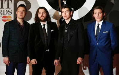 Arctic Monkeys BRIT AWARDS 2014