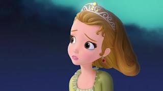 Animasi Gambar Putri Sofia Sedih