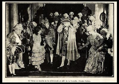 Resultado de imagen para Representacion de comedias en la Lima antigua