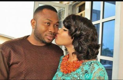 Tonto Dikeh and ex-husband, Olakunle Churchill unite