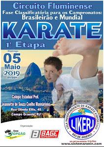 Circuito Fluminense de Karate - 1ª Etapa