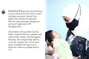 Banjir Doa, Khofifah Gendong Anak Awak Kapal Selam Nanggala 402 Baru Umur 18 Hari