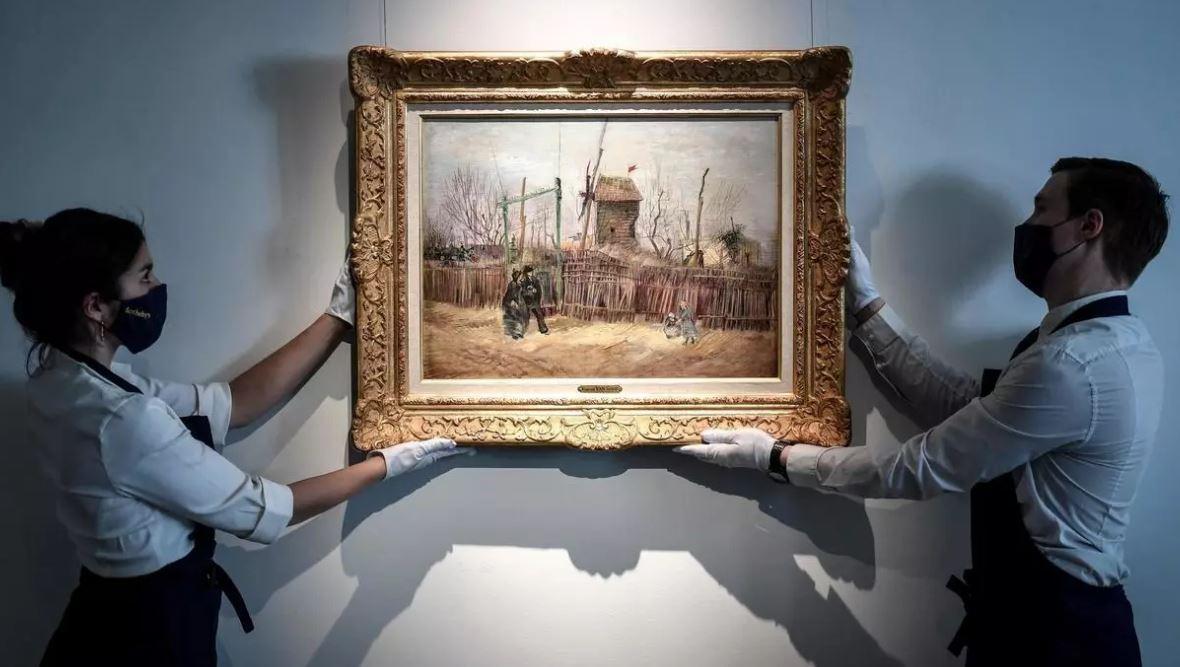 لوحة للرسام الهولندي فان غوخ تحقق 14 مليون يورو في مزاد باريس