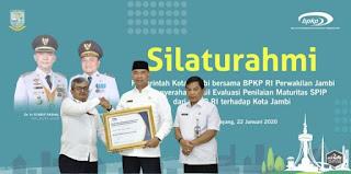 Lagi,Pemkot Jambi Raih Penghargaan di Tingkat Nasional