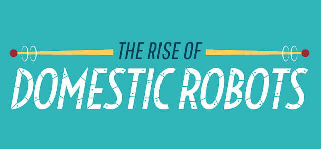 The-Rise-Of-Domestic #Robots#Infographic