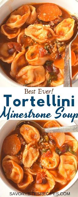 best tortellini minestrone soup