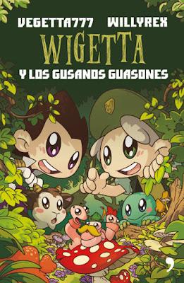 LIBRO - Wigetta 4 y los gusanos guasones Vegetta777 | Willyrex (Temas de hoy - 6 Septiembre 2016) YOUTUBER | A partir de 14 años Edición papel & digital ebook kindle Comprar en Amazon España