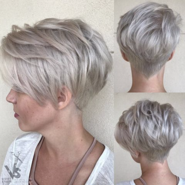 long pixie cut 2019