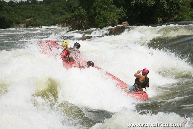 Rapid no. 3 – Bubugo; the White Nile, Uganda