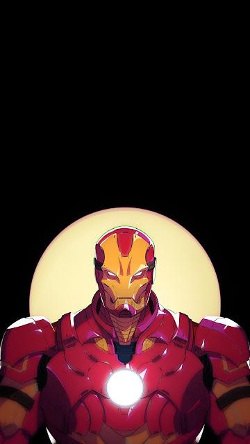 iron man fan art wallpaper
